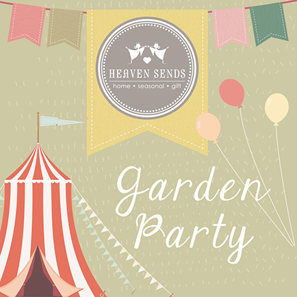 It's garden party season at Heaven Sends