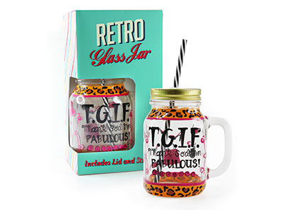 Lesser & Pavey introduces retro drinking jars