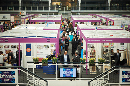 Stand bookings up for The London Stationery Show