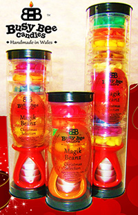 Busy Bee Candles unveils autumn and Christmas Magik Beanz sets