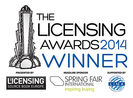 Winners of The Licensing Awards 2014 announced