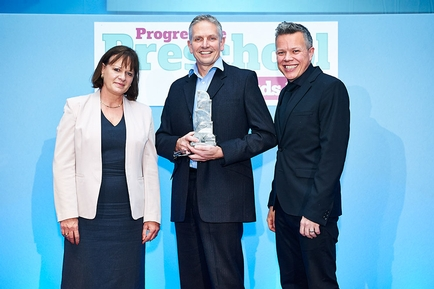 Apples to Pears wins Progressive Preschool Award 2014