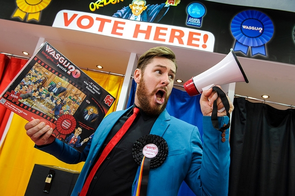 Jumbo Games launches political campaign