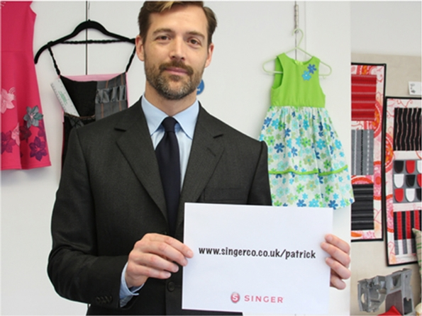 Sewing classes with Singer and Patrick Grant