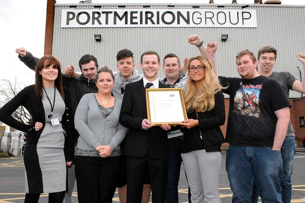 Portmeirion Group scoops youth employment award