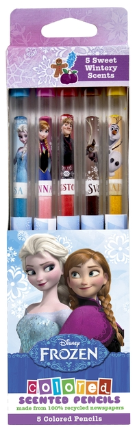 Frozen range of scented stationery