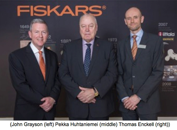 Ambassador of Finland officially opens new office and showroom for Fiskars in Birmingham