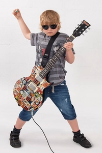 The Beano full-sized electric guitar
