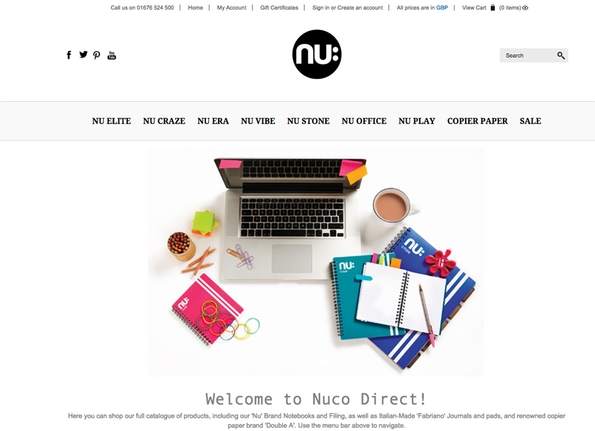 Nuco International launches new e-commerce site for easier access to its products