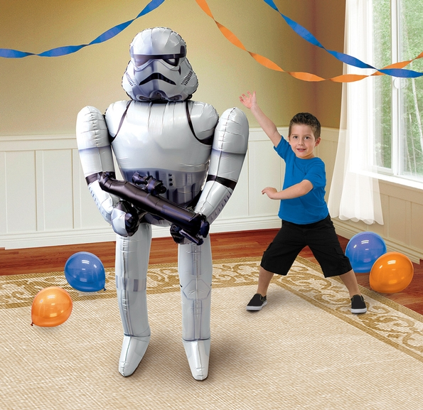 Experience the Force with Amscan's new Star Wars foil balloons