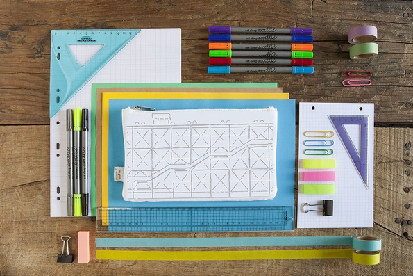 eatsleepdoodle pencil case launched at Pompidou Centre