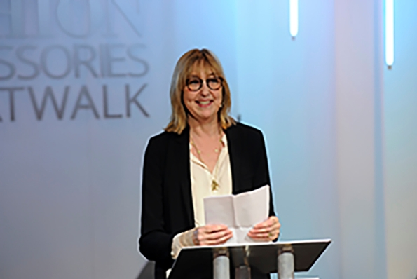Cath Kidston gives inspirational speech at awards ceremony
