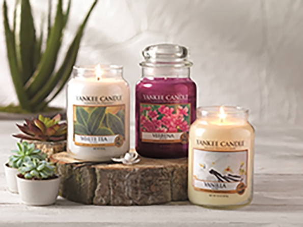 New fragrances for Yankee Candle