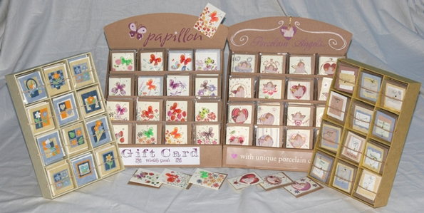Turn a product into a personal gift with Kind Compliments Greetings