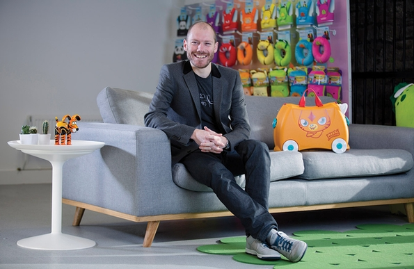 Rob Law of Trunki named ACID ambassador