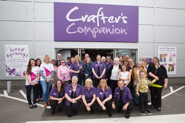 Crafter's Companion enjoys successful store launch