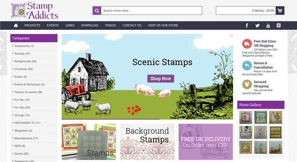 New website for Stamp Addicts