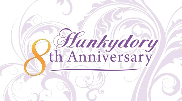 Create and Craft celebrate 8 years of Hunkydory Crafts on the channel