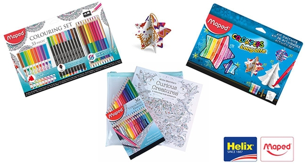Add some colour to your White Christmas with Maped Helix