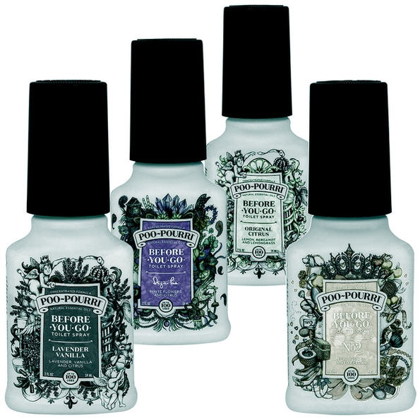 Poo Pourri re-launch new packaging