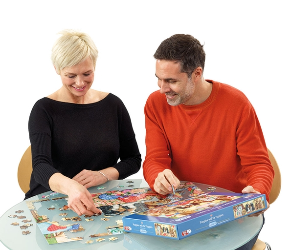 Who needs tonic when you have jigsaw puzzles?