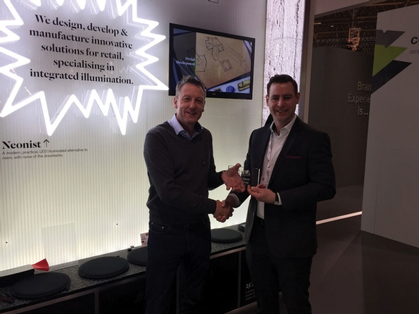 Unibox voted winner of the SDEA Best Stand Award at EuroShop 2017