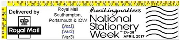 National Stationery Week puts its stamp on April with the Royal Mail