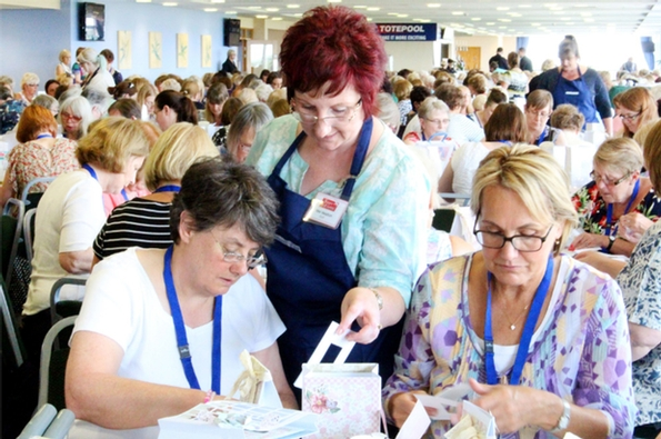 Crafting Live Craft Show heads to Bolton for the first time next month