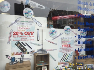 Cheshire retailer wins National Stationery Week retailer's competition