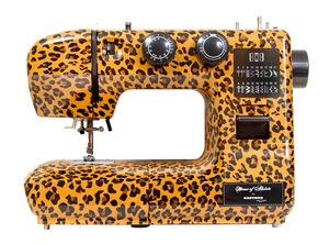 Striking sewing machines designed by House of Alistair for Eastman Tailor