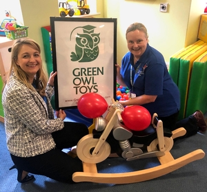 Demelza Children's Hospice and Green Owls Toys celebrate 10th anniversaries