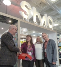 Stylo wins SDEA best stand award at Retail Design Expo