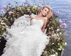 Top international bridal labels will unveil 2017 collections at London Bridal Fashion Week (LBfw) this May