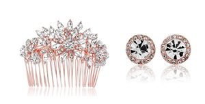 Glitzy Secrets launches the Rose Gold Wedding Jewellery Collection