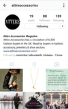 Follow Attire Accessories on Instagram!