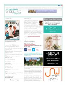 Your West Midlands Wedding magazine - September 2014 newsletter