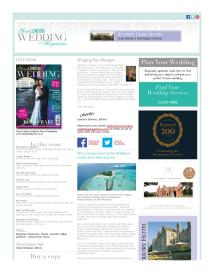 Your London Wedding magazine - October 2014 newsletter