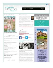 Your Berks, Bucks and Oxon Wedding magazine - October 2014 newsletter