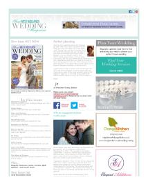 Your West Midlands Wedding magazine - October 2014 newsletter