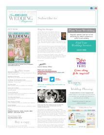 Your Berks, Bucks and Oxon Wedding magazine - November 2014 newsletter