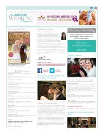 Your Berks, Bucks and Oxon Wedding magazine - December 2014 newsletter