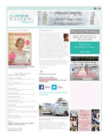 Your West Midlands Wedding magazine - December 2014 newsletter