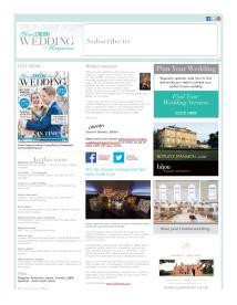 Your London Wedding magazine - December 2014 newsletter