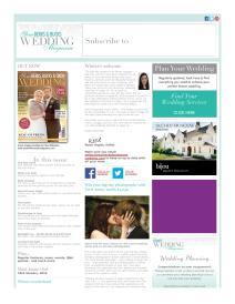 Your Berks, Bucks and Oxon Wedding magazine - January 2015 newsletter