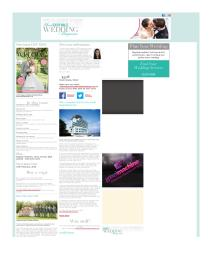 Your South Wales Wedding magazine - January 2015 newsletter