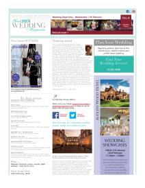 Your London Wedding magazine - January 2015 newsletter