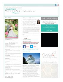 Your South Wales Wedding magazine - February 2015 newsletter