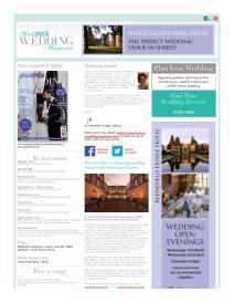 Your London Wedding magazine - February 2015 newsletter