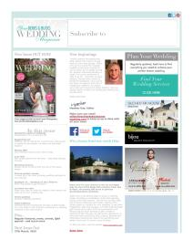Your Berks, Bucks and Oxon Wedding magazine - February 2015 newsletter