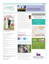 Your West Midlands Wedding magazine - February 2015 newsletter